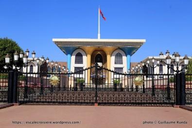 Escale à Mascate - Sultanat d'Oman - Palais du Sultan Qaboos