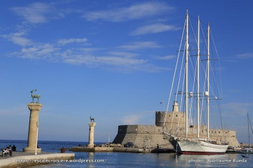 Escale à Rhodes - Grèce