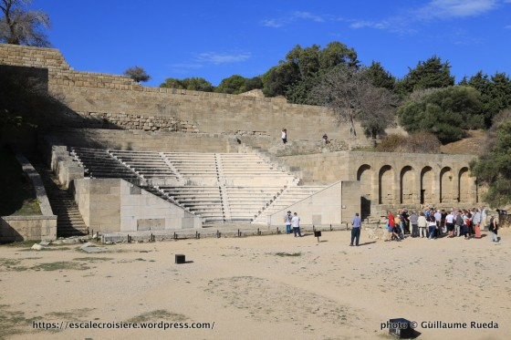 Escale à Rhodes - Grèce - L'acropole