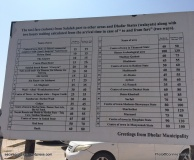 Escale à Salalah - Sultanat d'Oman - Tarifs taxi