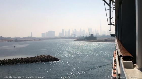 MSC Fantasia - Arrivée à Dubaï