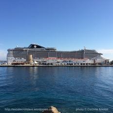 MSC Fantasia - Escale à Rhodes - Grèce