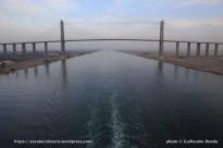 Traversée du Canal de Suez - pont de l'amitié