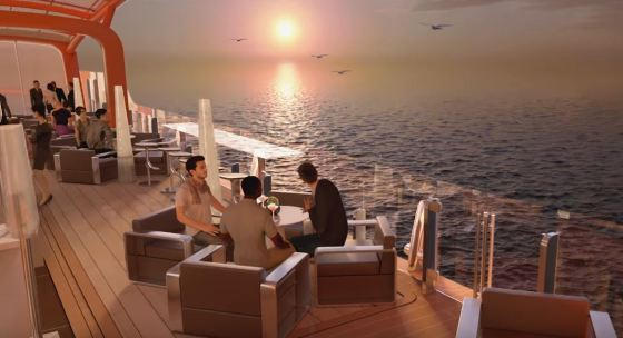 Celebrity Edge - Magic Carpet Pont 14