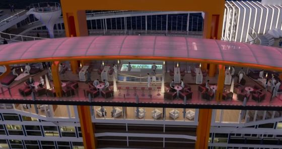 Celebrity Edge - Magic Carpet Pont 16