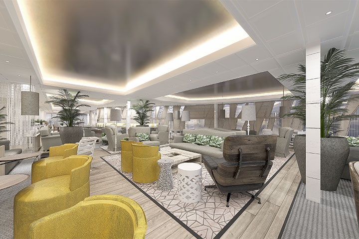 Celebrity Edge - Suite Lounge