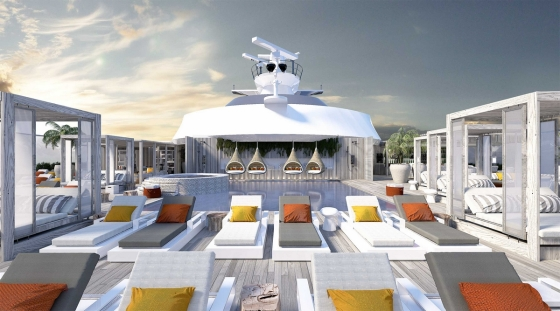 Celebrity Edge - The Retreat Solarium
