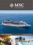 MSC Preziosa - Brochure et plan des ponts
