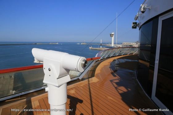 Viking Sky - Explorers' Lounge - Extérieur avec longue vue