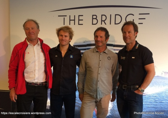 The Bridge 2017 - Queen Mary 2 - Francis Joyon - François Gabart - Yves Le Blévec - Thomas Coville