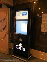 Costa Magica - Borne d'information