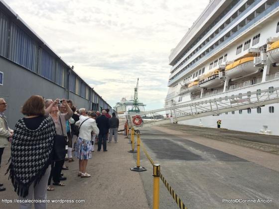 Costa Magica - Embarquement à bord