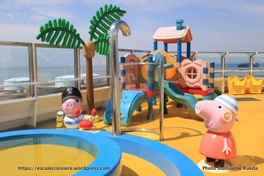 Costa Magica - Squok club enfants - Peppa Pig