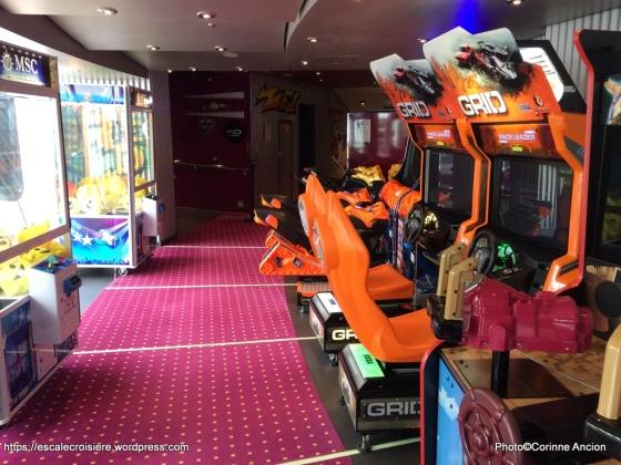 MSC Croisières - Virtual World - Jeux d'Arcades