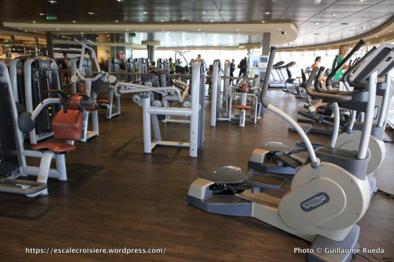 MSC Preziosa - Salle de sport