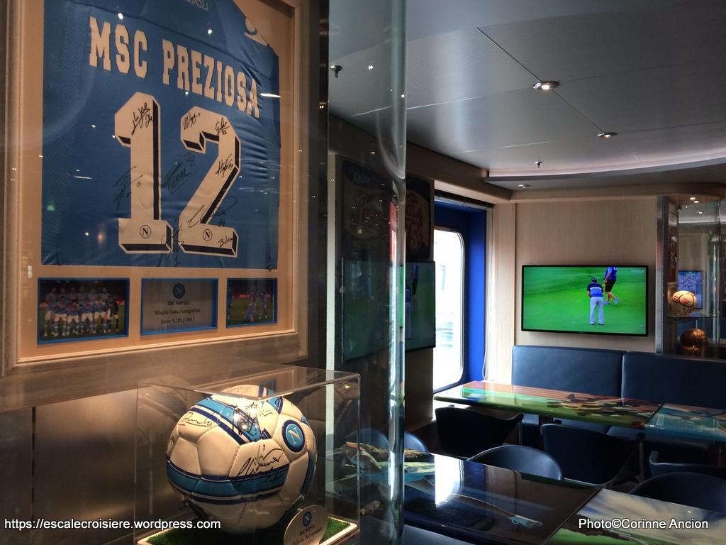MSC Preziosa - Sports and bowling Diner