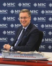 Patrick Pourbaix, Directeur Général France, Belgique & Luxembourg MSC Croisières