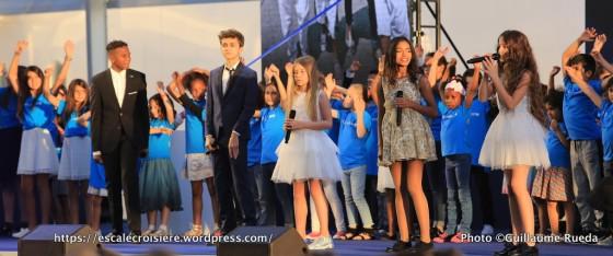 2017-06-03_MSC Meraviglia - Baptême - Le Havre - Kids United