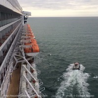 The Bridge - Queen Mary 2 - Cherbourg