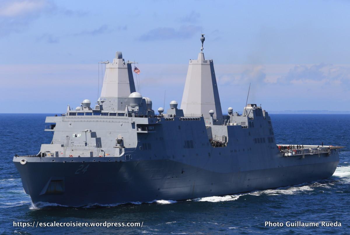 2017-06-24_The Bridge 2017_Escorte du Queen Mary 2 - USS Arlington – USA