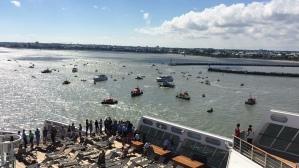 2017-06-24_The Bridge 2017_Queen Mary 2 à Saint Nazaire - SNSM
