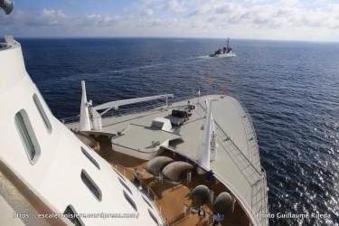 The Bridge_Escorte du Queen Mary 2 - frégate Primauguet - France