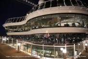 MSC Meraviglia by night - Atmosphere pool