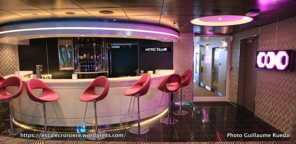 MSC Meraviglia - Bar discothèque - Attic Club