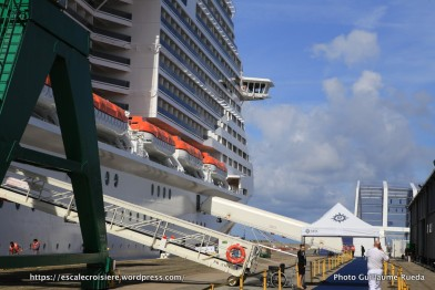 MSC Meraviglia - Embarquement à bord
