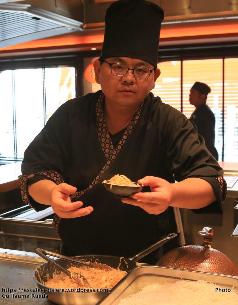 MSC Meraviglia - Kaito Sushi bar et Teppanyaki