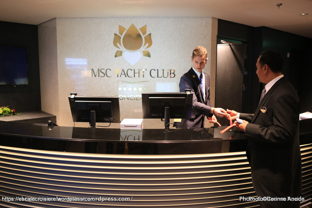 MSC Meraviglia - MSC Yacht Club