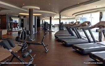 MSC Meraviglia - Salle de sport