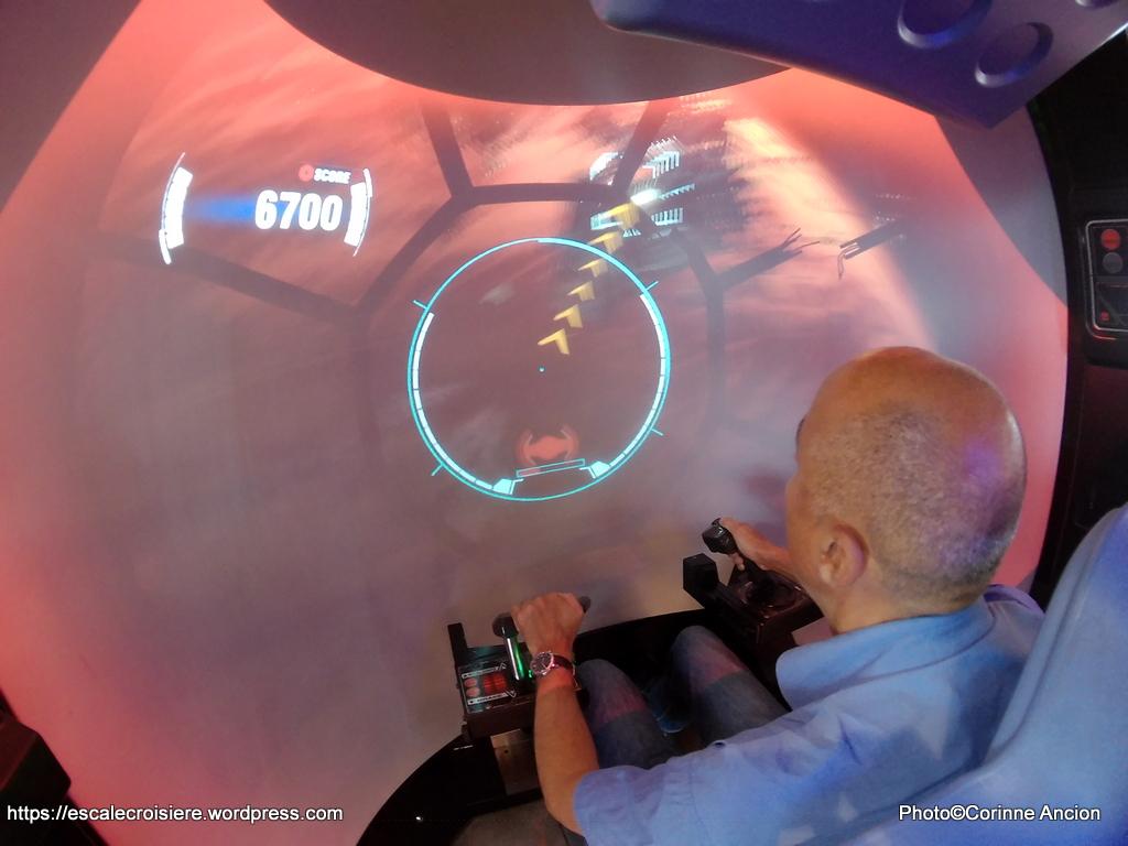 MSC Meraviglia - Simulateur de vol Star Wars