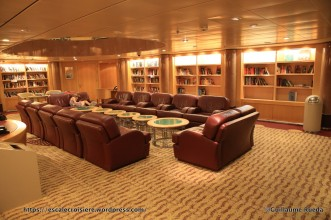 Independence of the Seas - Bibliothèque