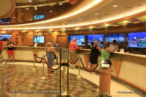 Independence of the Seas - Bureau des excursions - Guest service
