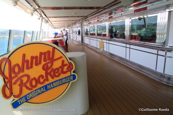 Independence of the Seas - Johnny Rockets restaurant