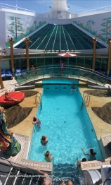 Independence of the Seas - Piscine adultes