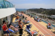 Independence of the Seas - Piste de jogging