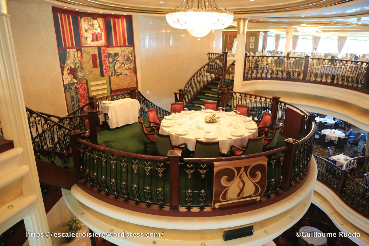 Independence of the Seas - Restaurant King Lear