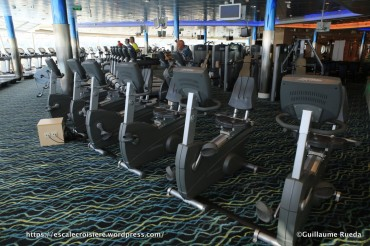 Independence of the Seas - Salle de sport