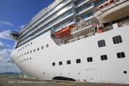 Costa Mediterranea - Embarquement