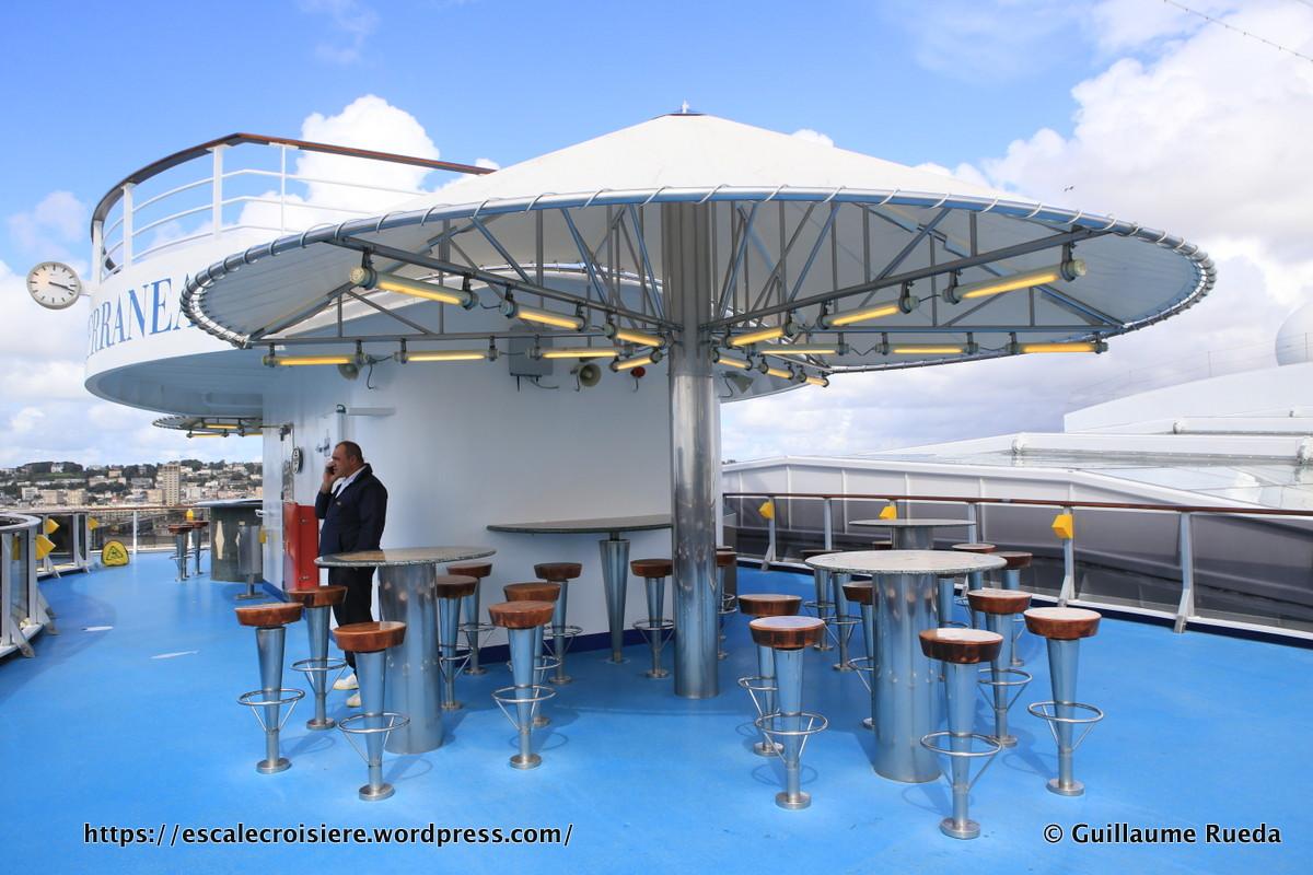 Costa Mediterranea - Ponts extérieurs