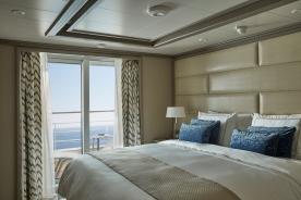 Silver Muse - Owner's Suite, view, veranda, balcony
