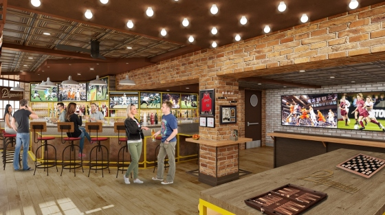 Symphony of the Seas - Playmakers Sports Bar & Arcade