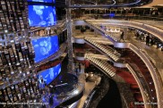 MSC Seaside - Atrium