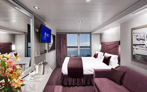 msc seaside se cabine avec balcon escale croisi re. Black Bedroom Furniture Sets. Home Design Ideas