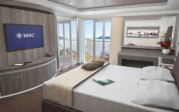 MSC Seaside - MSC Yacht Club Suite Royale