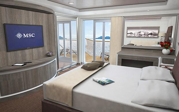MSC Seaside - MSC Yacht Club Suite Royale