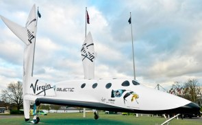 Richard Branson Virgin Galactic - Spaceship