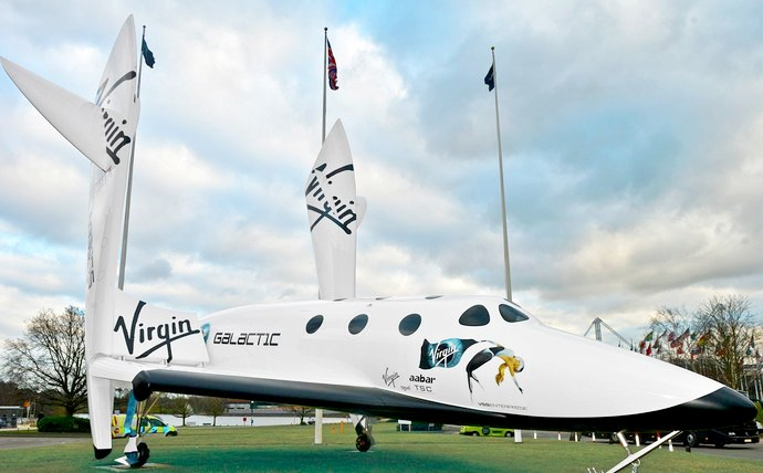 Richard Branson Virgin Galactic - Spaceship